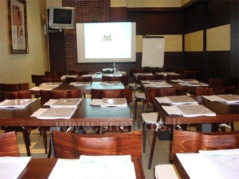 Bankietowa i sala konferencyjna w hotelu w Palanga Kerpe *** - 1