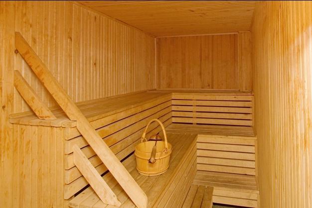 Sauna w Palanga w hotelu Austeja *** - 2