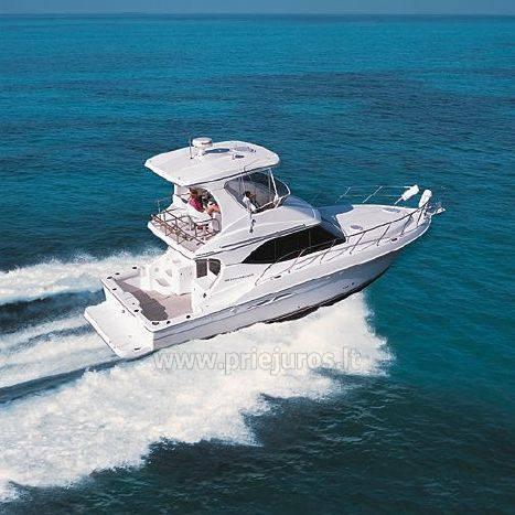 Luksusowy jacht Silverton do wynajęcia