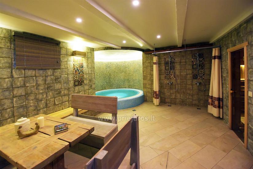 Sauna i jacuzzi. Pensjonat w Kłajpedzie Kubu - 1