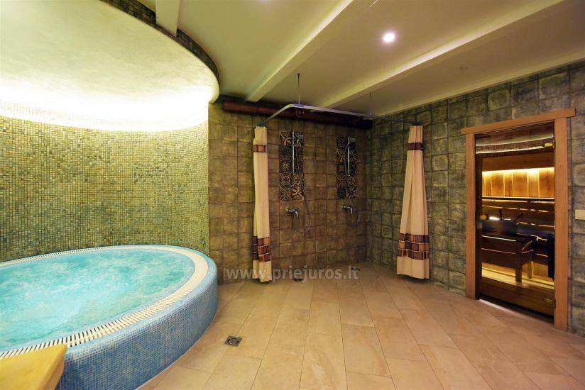 Sauna i jacuzzi. Pensjonat w Kłajpedzie Kubu - 2