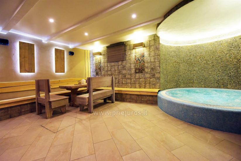 Sauna i jacuzzi. Pensjonat w Kłajpedzie Kubu - 3
