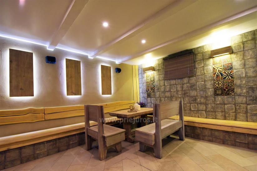 Sauna i jacuzzi. Pensjonat w Kłajpedzie Kubu - 4