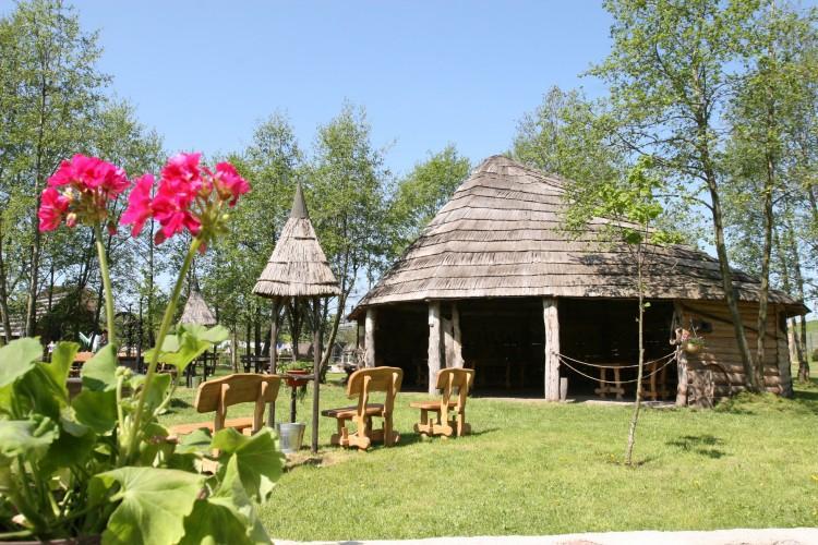 Feasts in Summerhouse in Homestead Vienkiemis