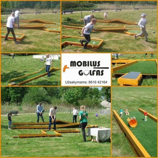 Rozrywka dla każdego - Mobile Golf!