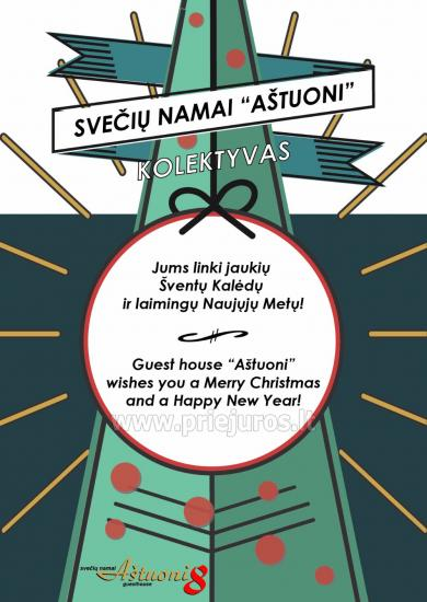Wakacje na Nowy Rok - dom goscinny w Palanga Astuoni **** - 3