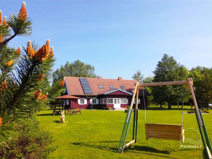 Gospodarstwo nad morzem w Karkle  (12 km od Kłajpedy) na seminaria, obozy, biesiady - 3