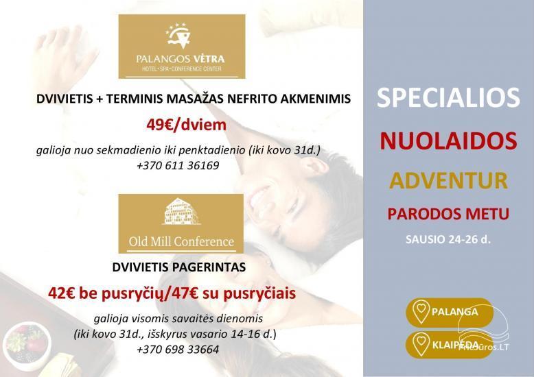PALANGOS VETRA **** Hotel w Poladze