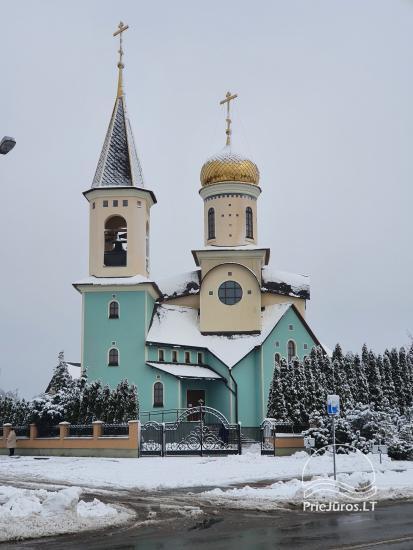 Iverskaya Kościół Ikony Matki Bożej w Połądze
