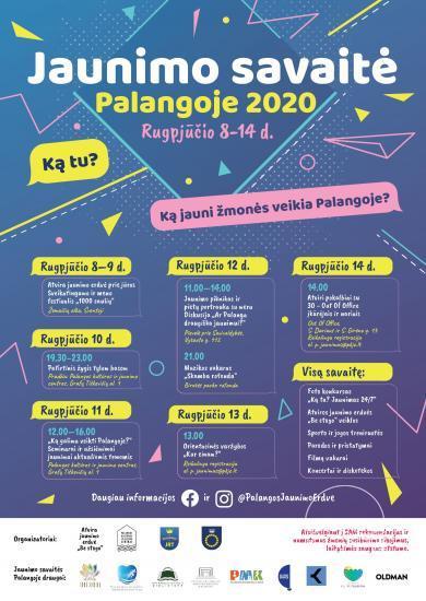 Święto młodzieży w Połądze 2020