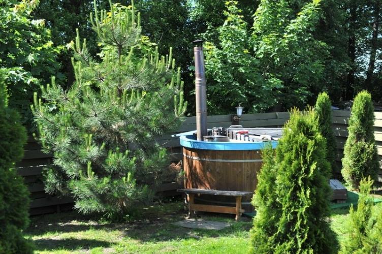 BAURE. Sauna japonska, basen w Poladze