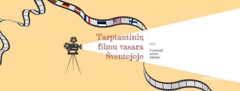 International film summer in Sventoji (Palanga) 2021