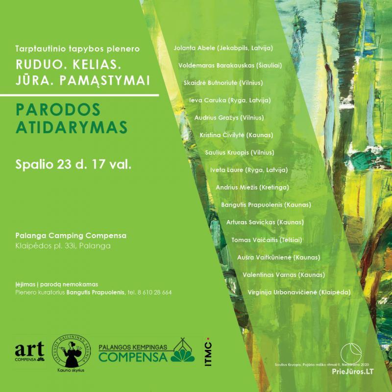 Otwarcie wystawy w Połądze