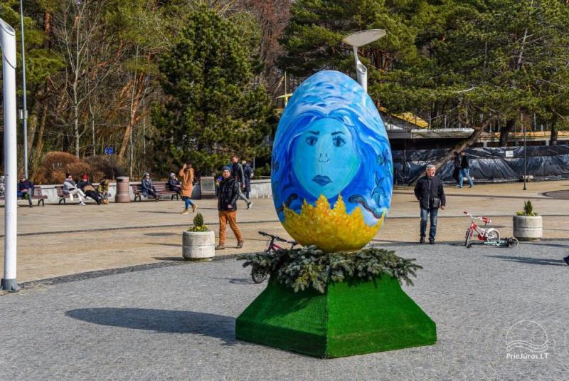 Wielkanoc w Połądze. Easter-egg Święto Aleja 2021