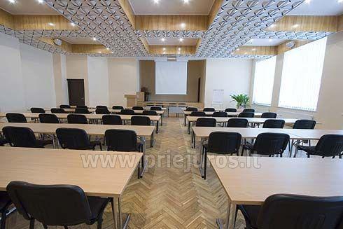 Sale konferencyjne w Zuvedra Palangos hotelu