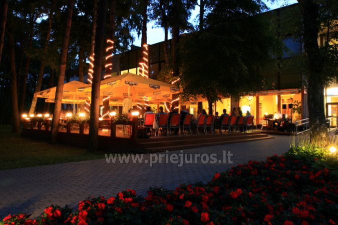 Sale konferencyjne w Zuvedra Palangos hotelu - 5