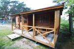 Drewniany domek letniskowy dwupokojowy - 15