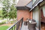 Apartament czteroosobowy z 2 sypialniami, balkonem i kominkiem Nr. 2, dom Nr. 1 - 15