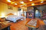 Ulepszony dwuosobowy pokój z kominkiem, łaźnią i widokiem na Zalew (45 metrów kwadratowych); - 1