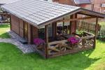 Dwupokojowe domki z tarasami dla 4 osób - 1