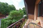 Pokój dwuosobowy z dodatkowym łóżkiem, kuchnia, balkon na drugim piętrze - 11