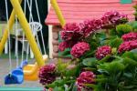 Prywatny dziedziniec z ogrodem, miejsce do biesiadowania, zadaszenie, plac zabaw dla dzieci, parking wiele - 16