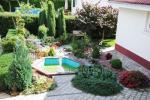 Prywatny dziedziniec z ogrodem, miejsce do biesiadowania, zadaszenie, plac zabaw dla dzieci, parking wiele - 20