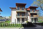 2-pokojowe mieszkanie z prywatnym dziedzińcem w centrum Połągi. Ul Ganyklu 12 - 1