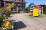 2-pokojowe mieszkanie z prywatnym dziedzińcem w centrum Połągi. Ul Ganyklu 12 - 13